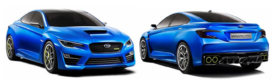 subaru wrx concept Subaru WRX Concept unveiled at the New York International Auto Show  