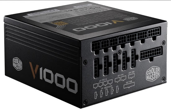 CoolerMaster V1000 Cooler Master announces V series high Performance PSUs 