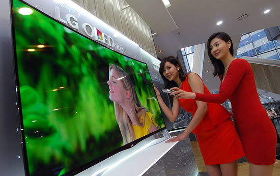 LG OLED curve TV launch LG begins sale of worlds first curved OLED TV in South Korea