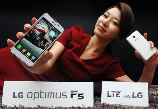 LG optimusF5 launch LG Optimus F5 makes its world debut in France today
