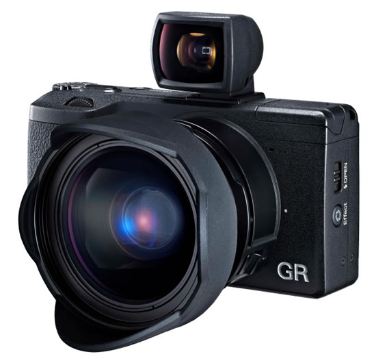 Ricoh GR vf Pentax Ricoh releases Ricoh GR camera with 16.2MP APS C sensor