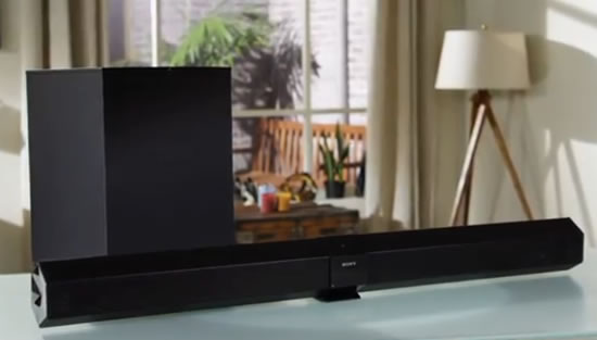 Sony HT CT660 soundbar Sony HT CT660 Soundbar brings boom to any room