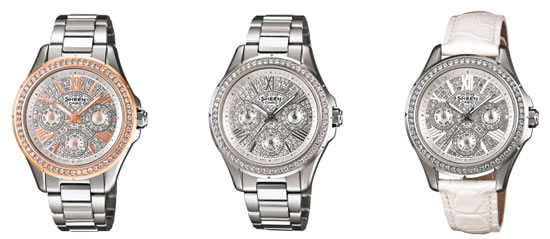 casio swarovski elements watch Casio unveils new watches studded with Swarovski Elements for women who shine