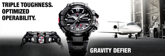 gshock gd mainimg Casio GW A1100 watch delivers all the shock resistance, operability and viewability the most demanding pilot needs 