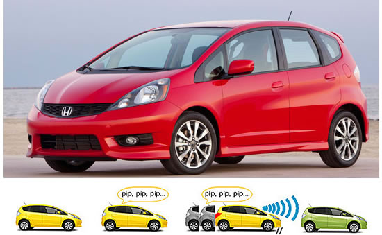 honda fit sport Honda safety package applies brakes automatically when the driver mistakes gas pedal for the brake pedal