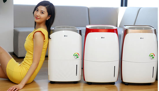 lg dehumidifier 2013 LG launches 13 new models of home dehumidifiers in Korea