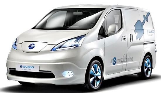 nissan e nv200 all electric van Nissan and FedEx Express begin testing of the 100% electric e NV200 commercial vehicle in Singapore 