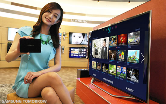 samsung smartTV experience Samsung announces availability of its first ever 2013 Evolution Kit in Korea