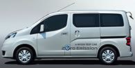 Nissan e NV200 Nissan starts field testing of 100% Electric Compact Van e NV200 in Saitama City Japan