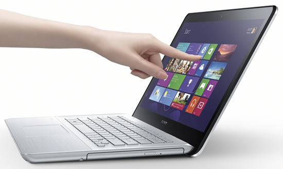 VAIO Fit 14 Touch Sony unveils brand new VAIO Fit laptop built with Sonys innovative digital imaging, sound and display technologies