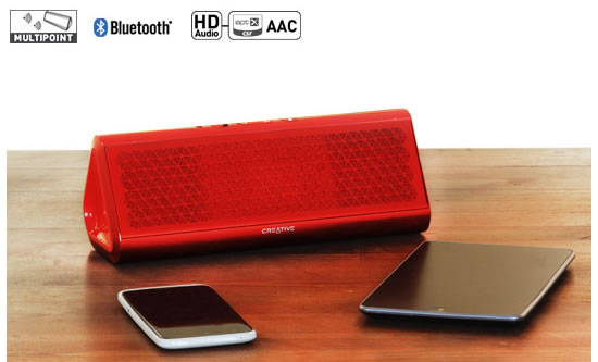 creative airwave HD NFC speaker Creative Airwave HD and Creative Airwave portable NFC wireless speakers comes with clever features 