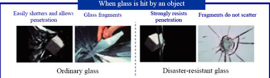 glass disaster resistant Asahi Glass to donate natural disaster resistant glass to Tornado Stricken Tsukuba City in Ibaraki Prefecture, Japan