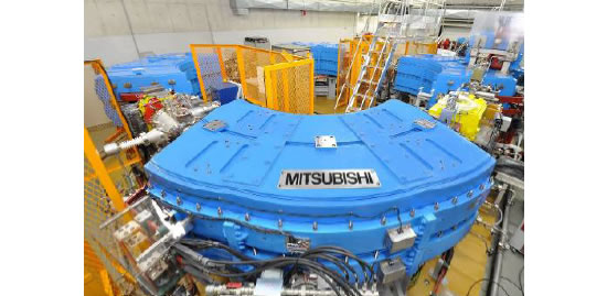 mitsubishi Proton Accelerator Mitsubishi Electrics proton therapy system for cancer treatment aims to cut irradiation time by up to 75%