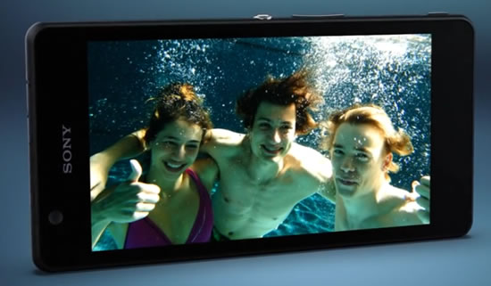 xperia ZR mobile Xperia ZR pushes the boundaries on where and how consumers can use the full potential of their smartphone 